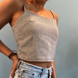 Brandy Melville stripped crop top